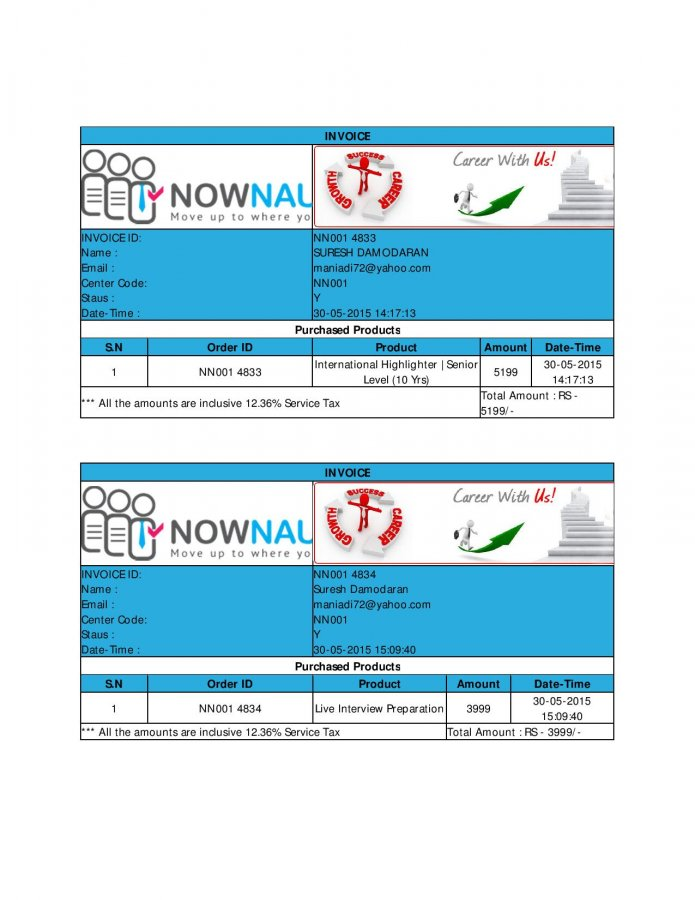 Complaint-review: Nownaukri.com - NOWNAUKRI IS A FRAUD AND CHEATING MISLEADING TAKING MONEY. Photo #1